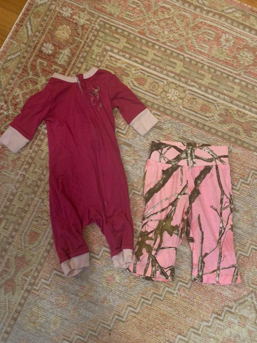 Baby Girl Camo Bundle