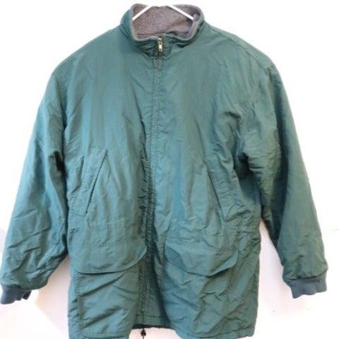 Vintage J Crew Green Zip Up Jacket