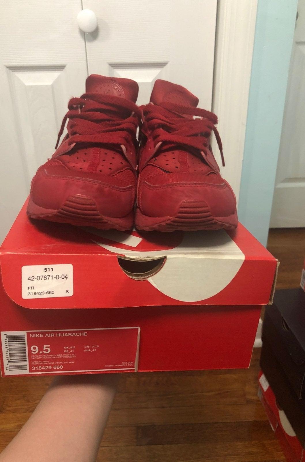 Nike Air Huarache Varsity Red/Varsity Re