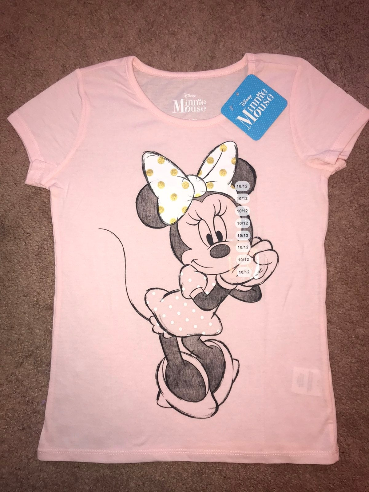 Girl's Disney Minnie Mouse T-Shirt