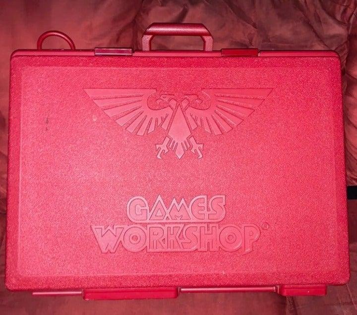 Warhammer 40K Red Large Army Case
