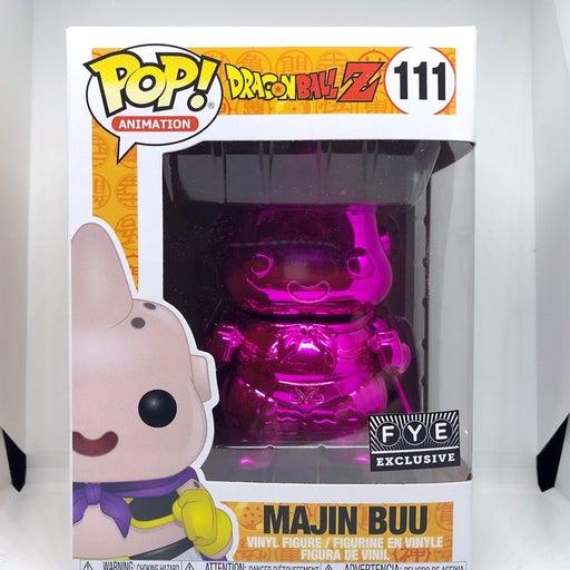 Funko Pop Majin Buu Pink Chrome