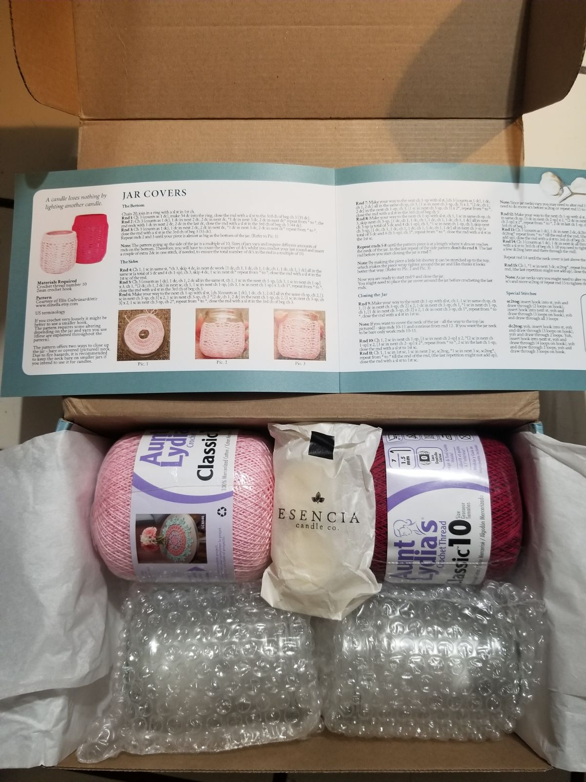 Crochet Surprise box