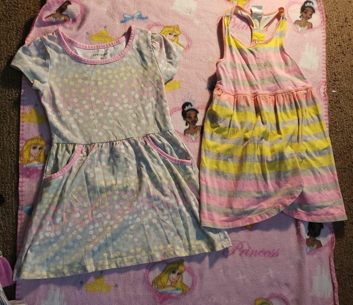 2 4t girls summer dresses