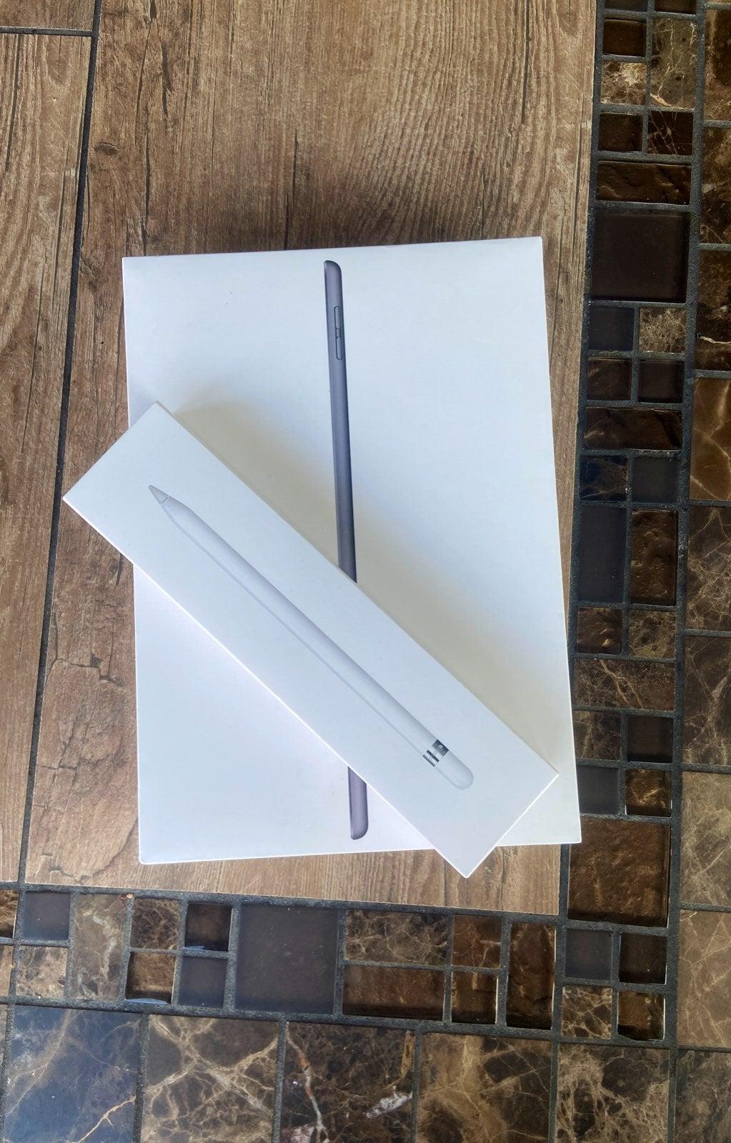 iPad (7th Gen) and Apple Pencil (1st Gen