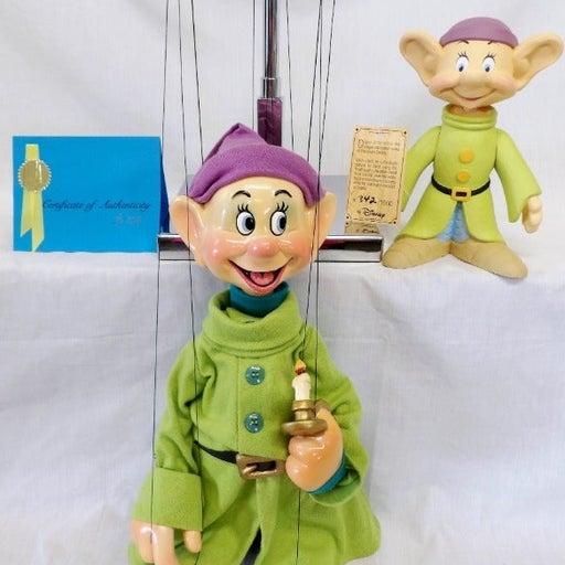 RARE Disney Dopey Marionette & Figurine!