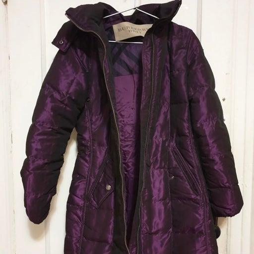 Burberry Purple Jacket
