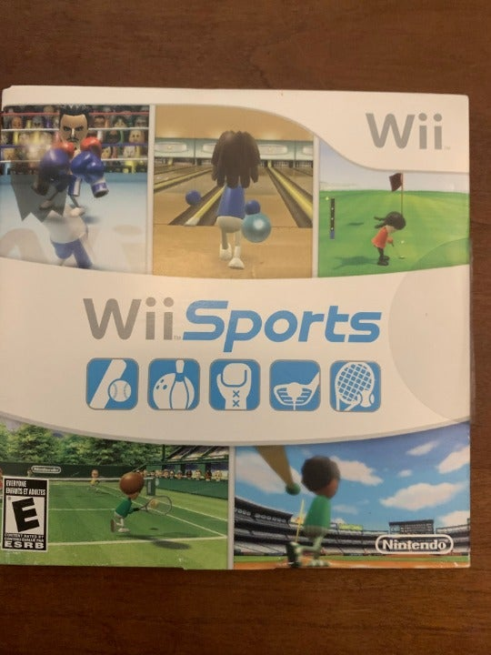 wii sports complete with manual