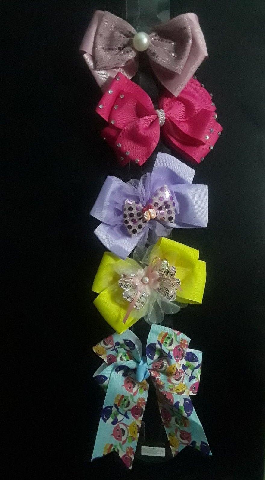 Set of girls hair Bows