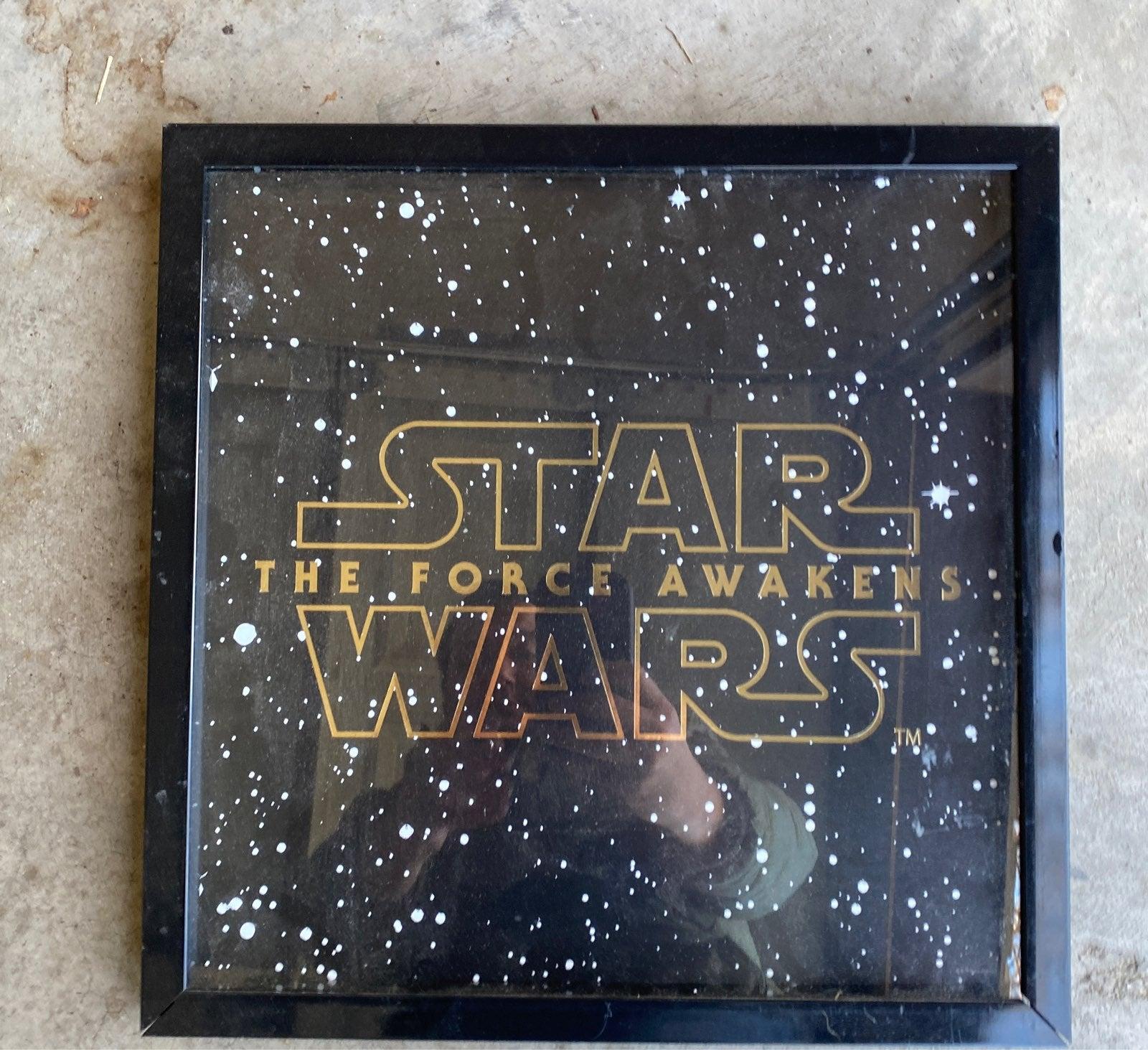 Star Wars Force Awakens sign