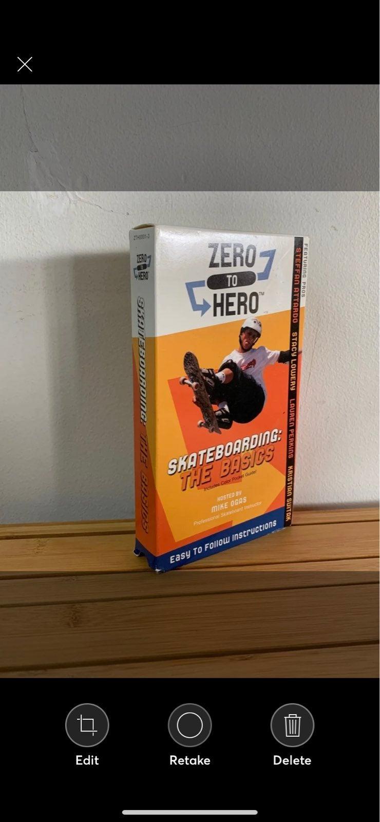 Skateboarding Basics Video Cassette