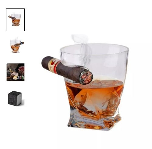 Bezrat Cigar Holder Twisted Drinking