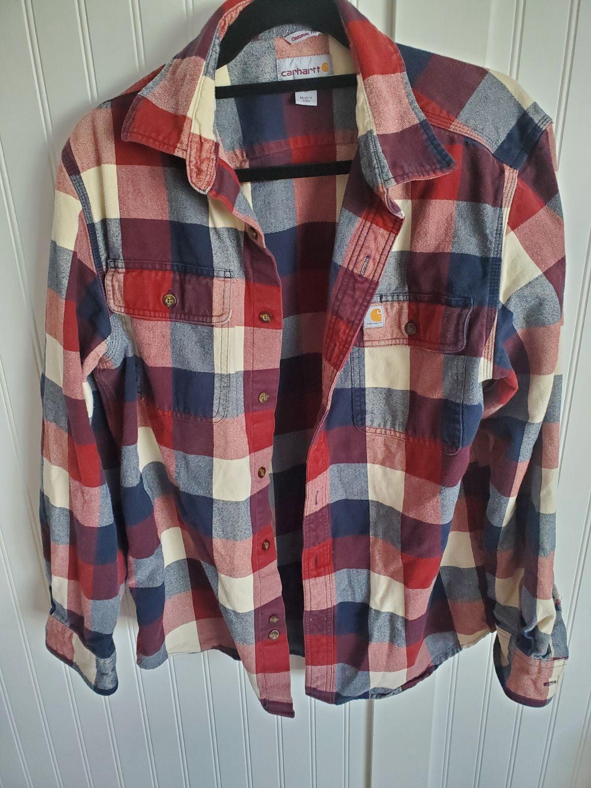 Carhartt button down shirt