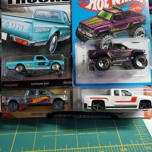 Hot Wheels random 4 truck lot.