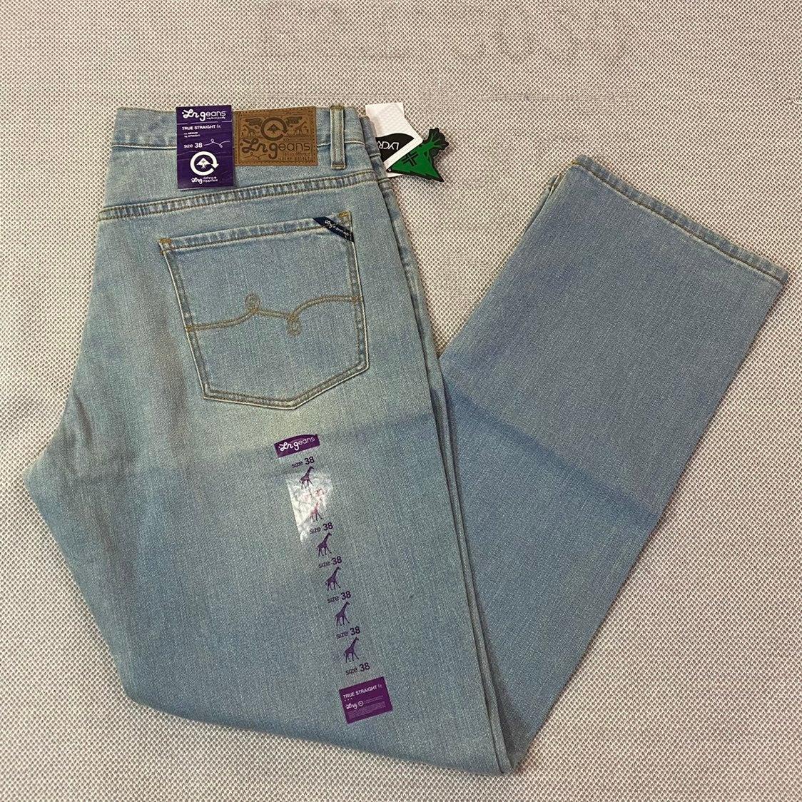 Men's LRG Light Indigo Straight Fit Jean