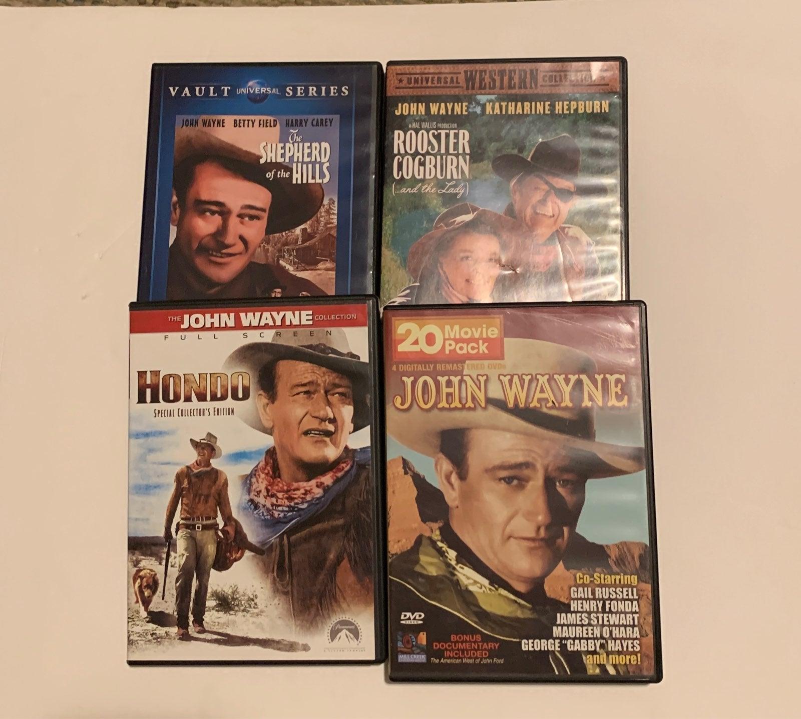 John Wayne DVDs