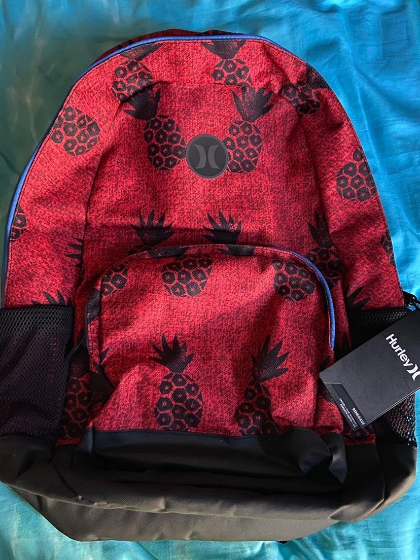 Red pineapple Backpack