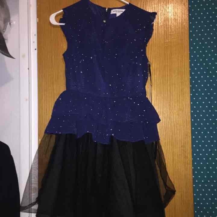 nwt navy blue dress sz2