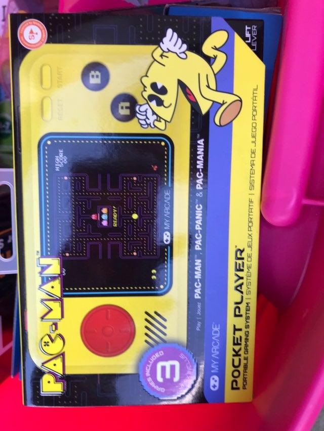 Handheld Pac-Man Game