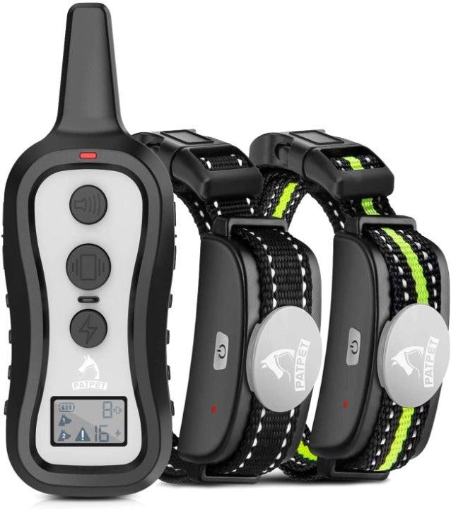 PATPET Dog Training Collar with 2 Receiv