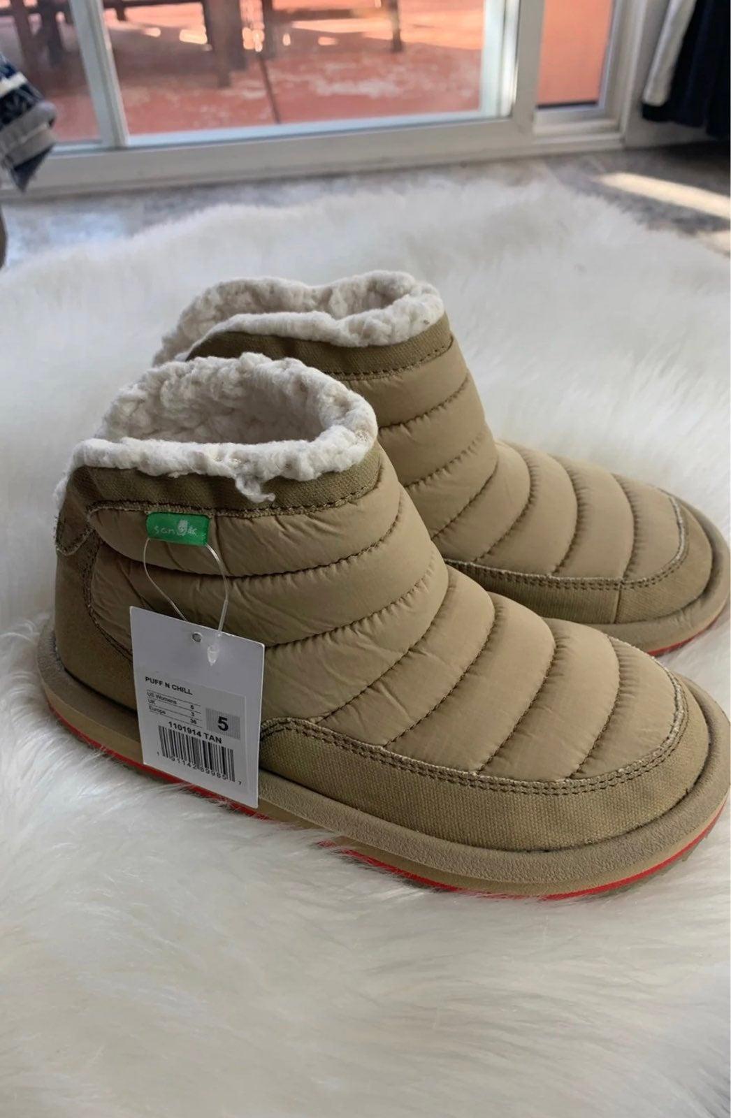 New Sanuk Women's Ankle Boot Size 5