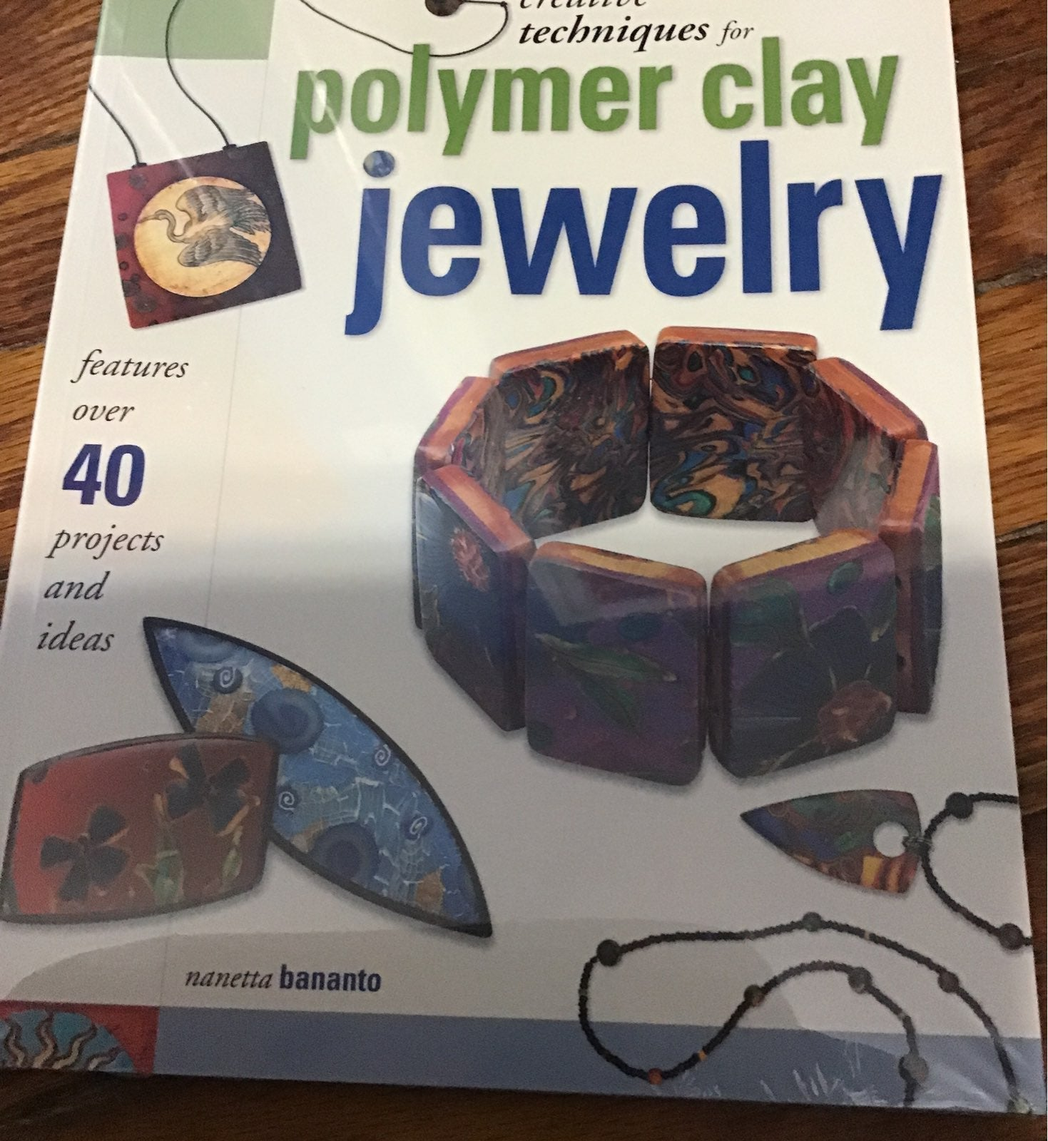 Polymer clay book