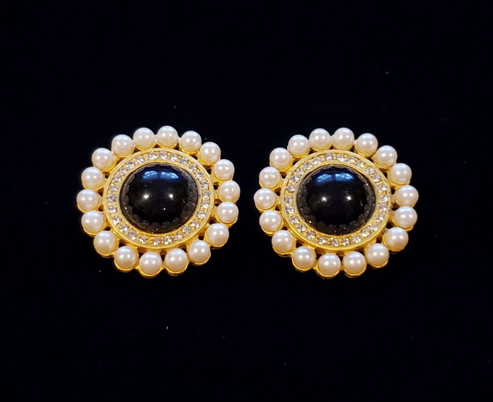 80's Ann Taylor Clip Earrings