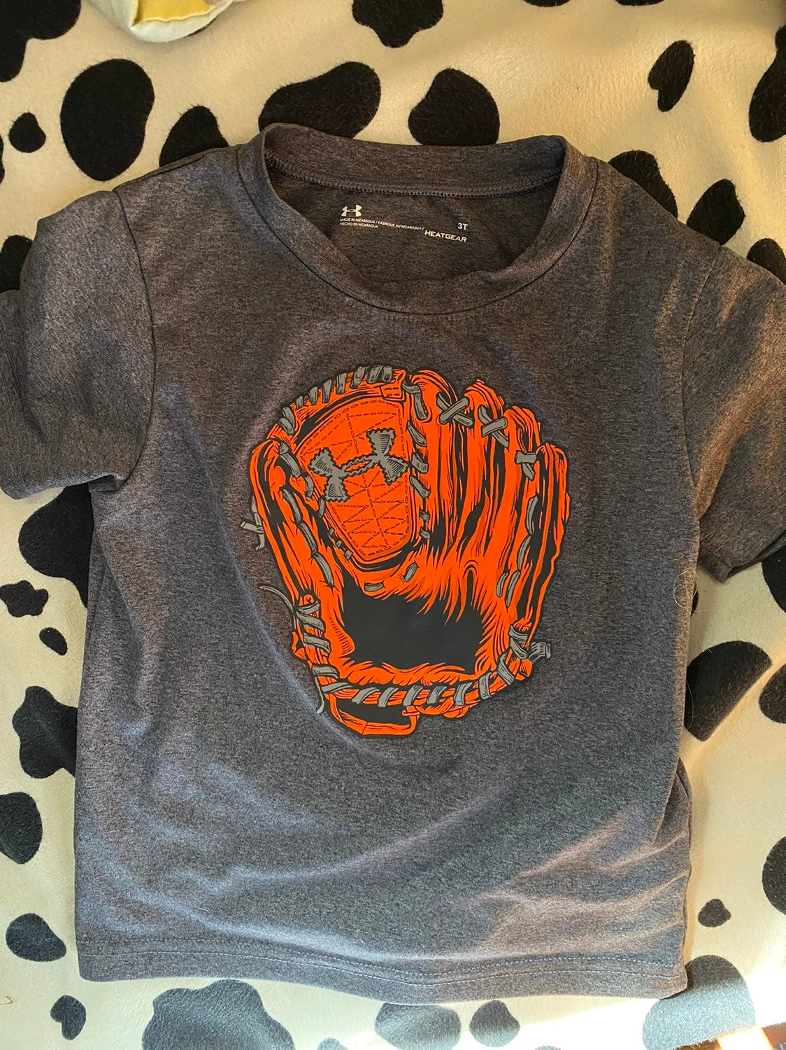 Under Armour and Nike 3T Toddler Shirts