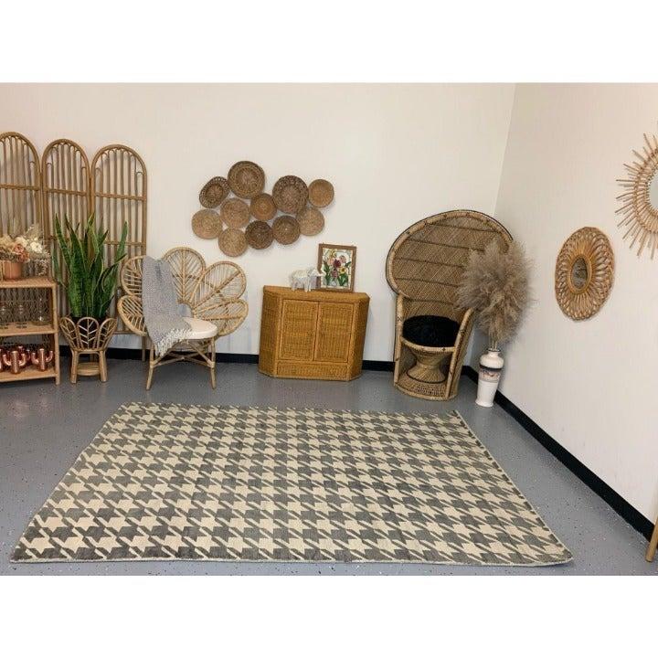 Sandra Boho 5x8 Indoor Area Rug NEW Visc