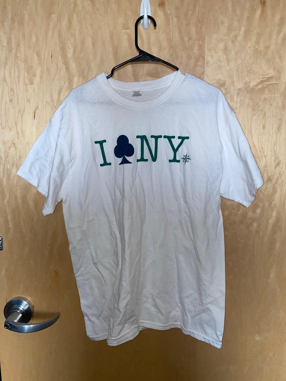 RARE Seattle Mariners I Club NY Shirt