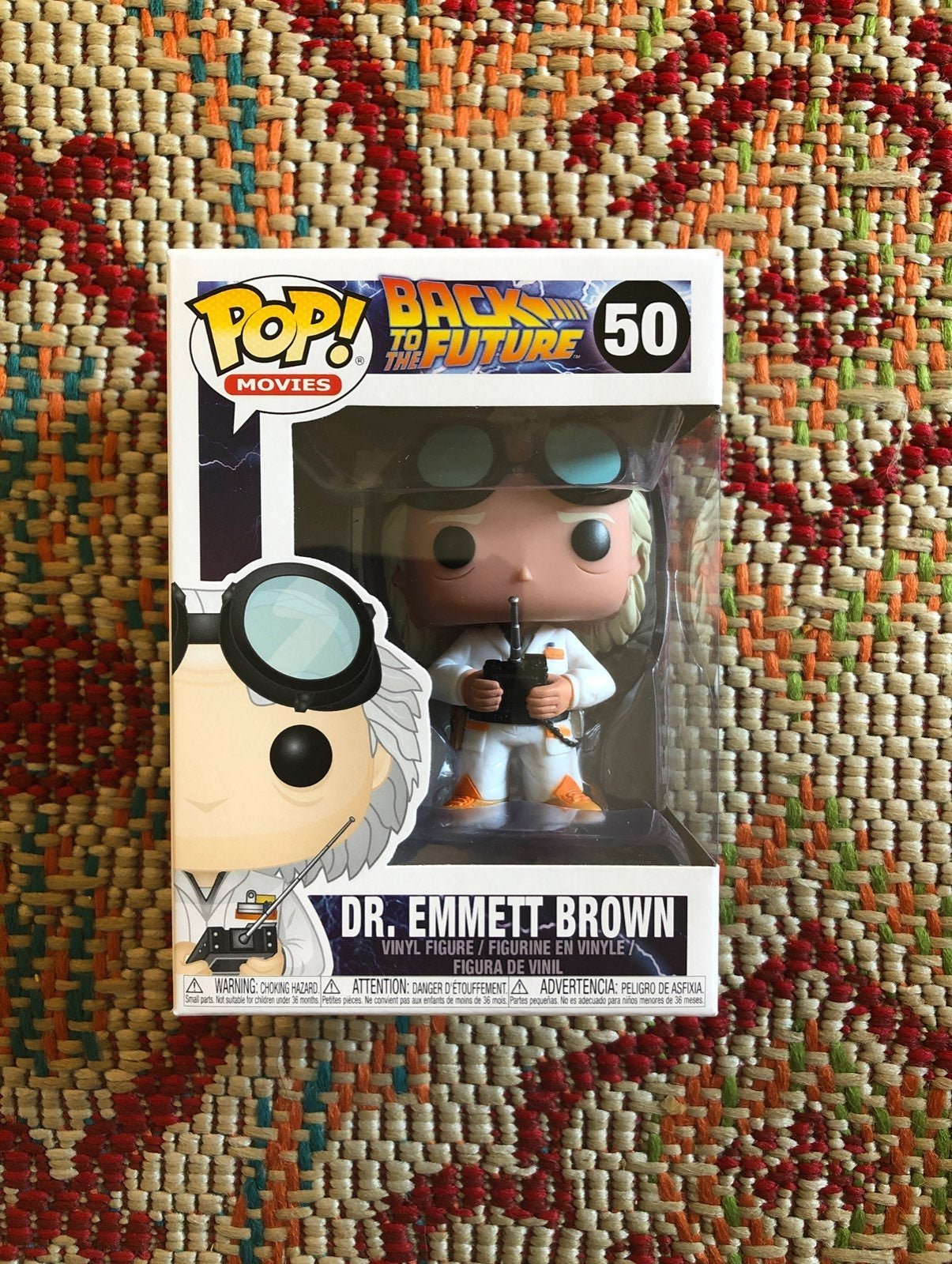 Funko Pop! Dr. Emmett Brown #50
