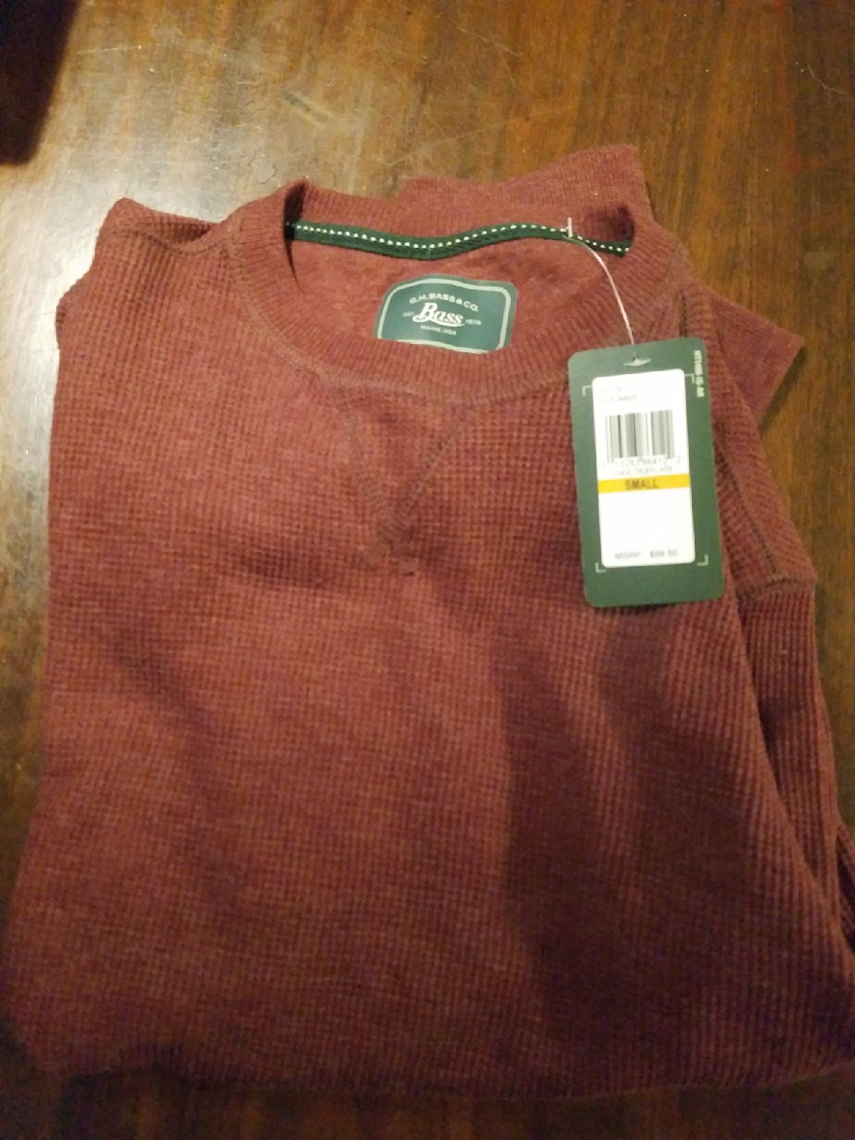 mens thermal shirts size small