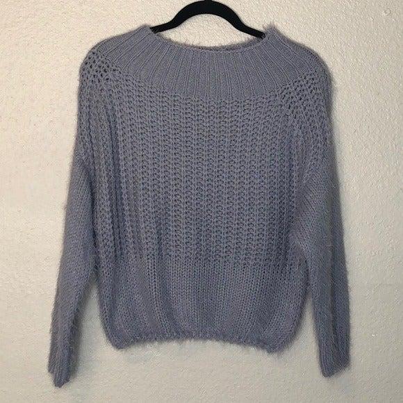 NWT Pink Owl Fuzzy Sweater
