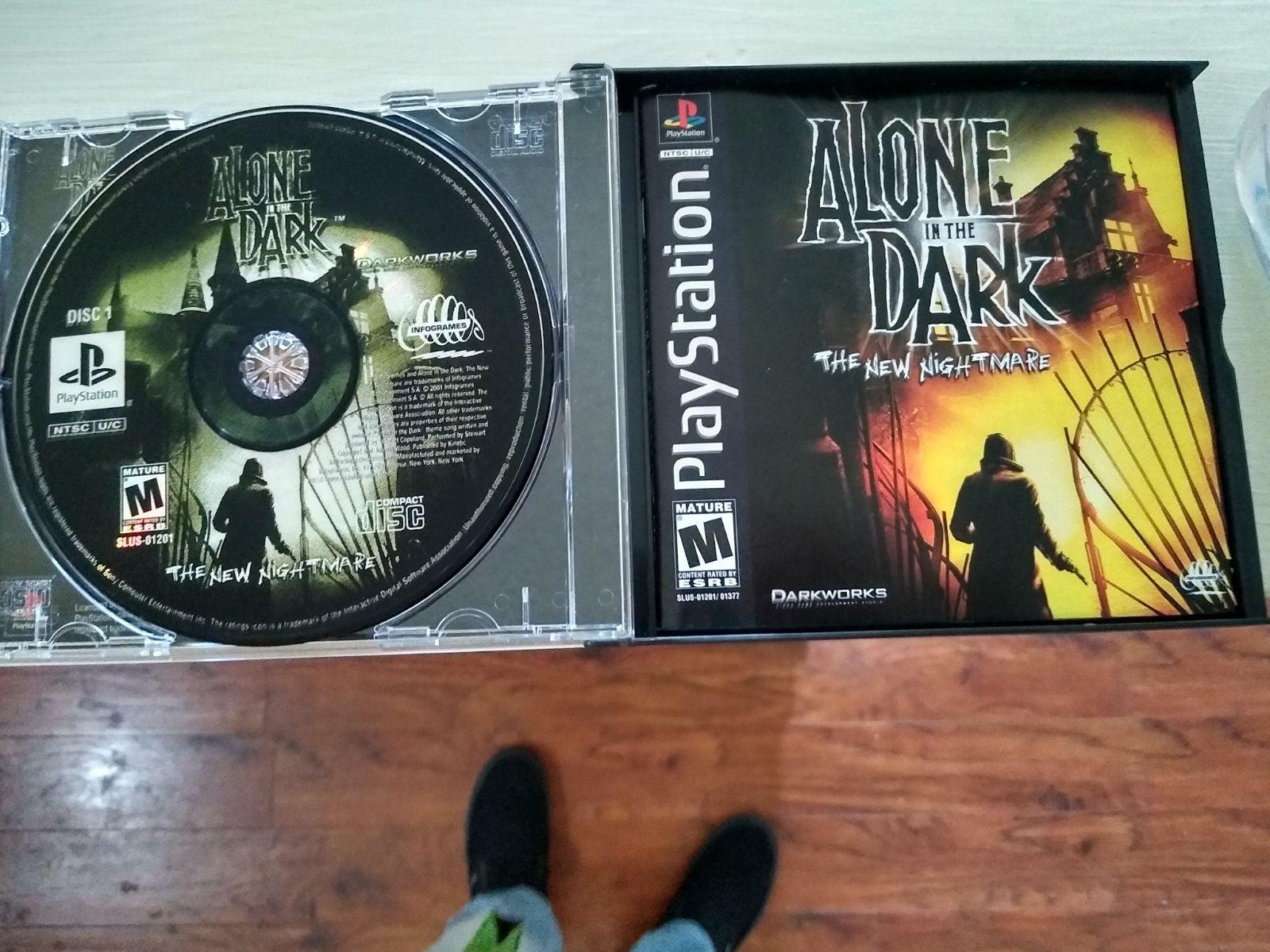 Alone in the Dark: New Nightmare PS1