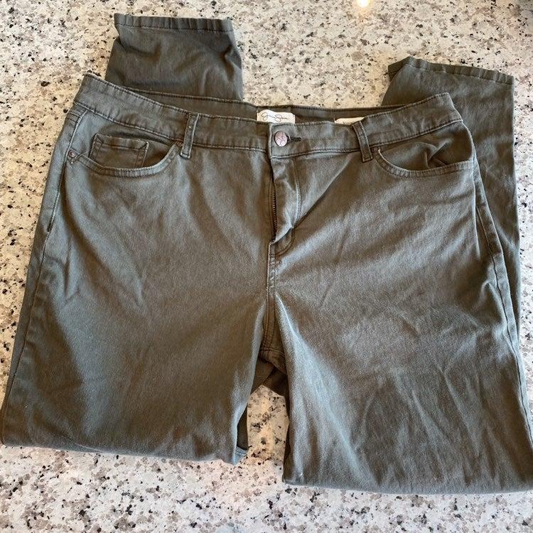 Jessica Simpson Olive Green pants