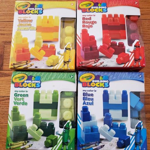 80 piece Crayola Building Block sets