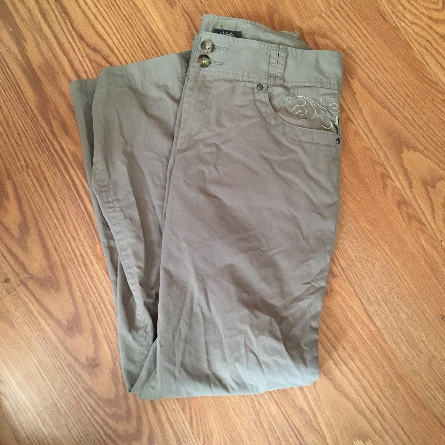 Cabela's Sage Casual Pants-Ladies 10