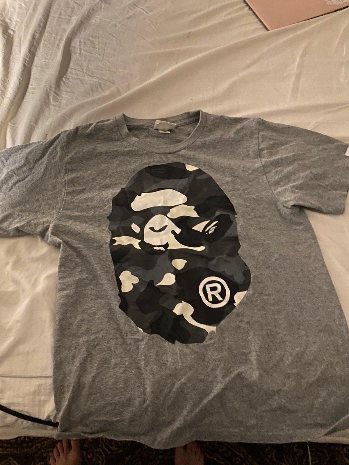 Camo Ape Bape shirt