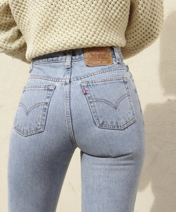 Levi's 501 High Waist wedgie fit Jeans