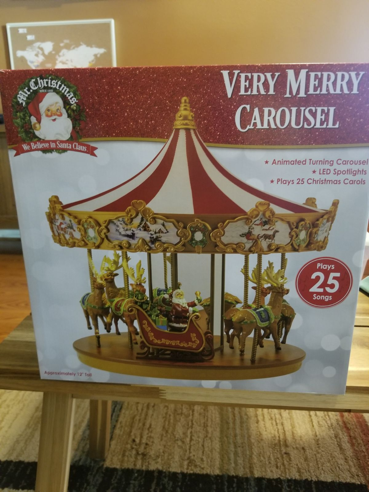 Mr. Christmas Very Merry Carousel