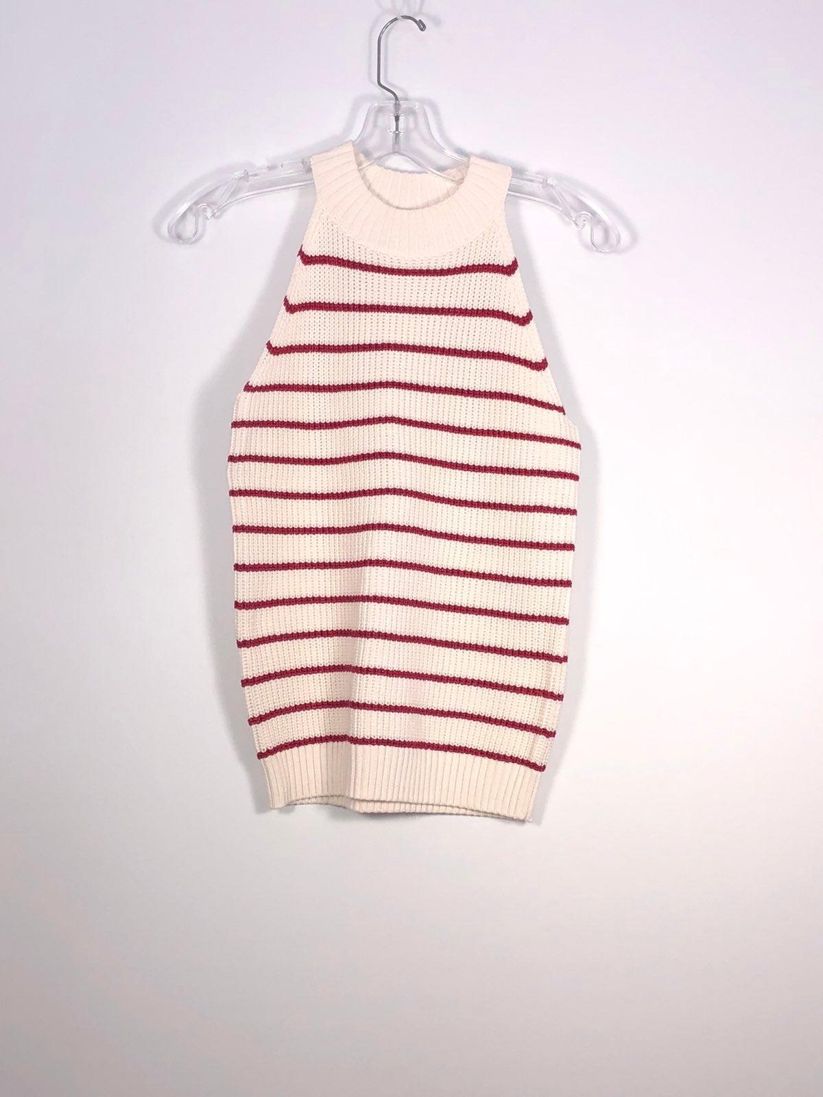 NWT LOFT Stripe Shimmer Sweater Tank