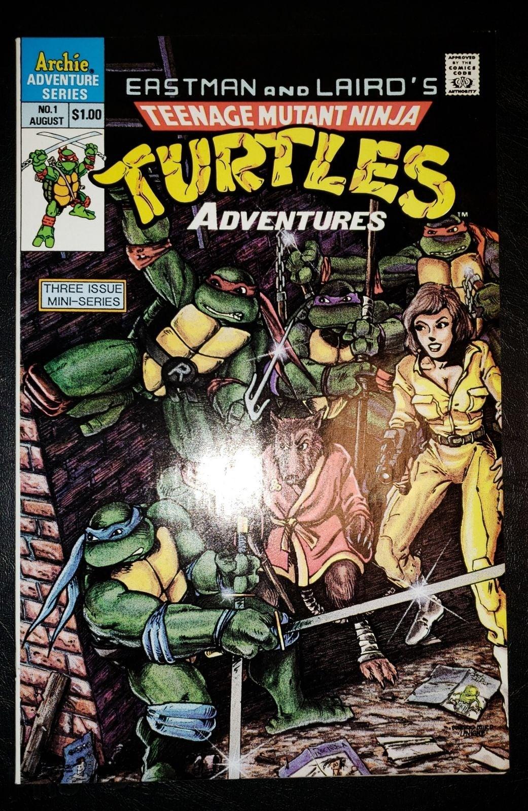 TMNT Adventures #1 Teenage Mutant Ninja