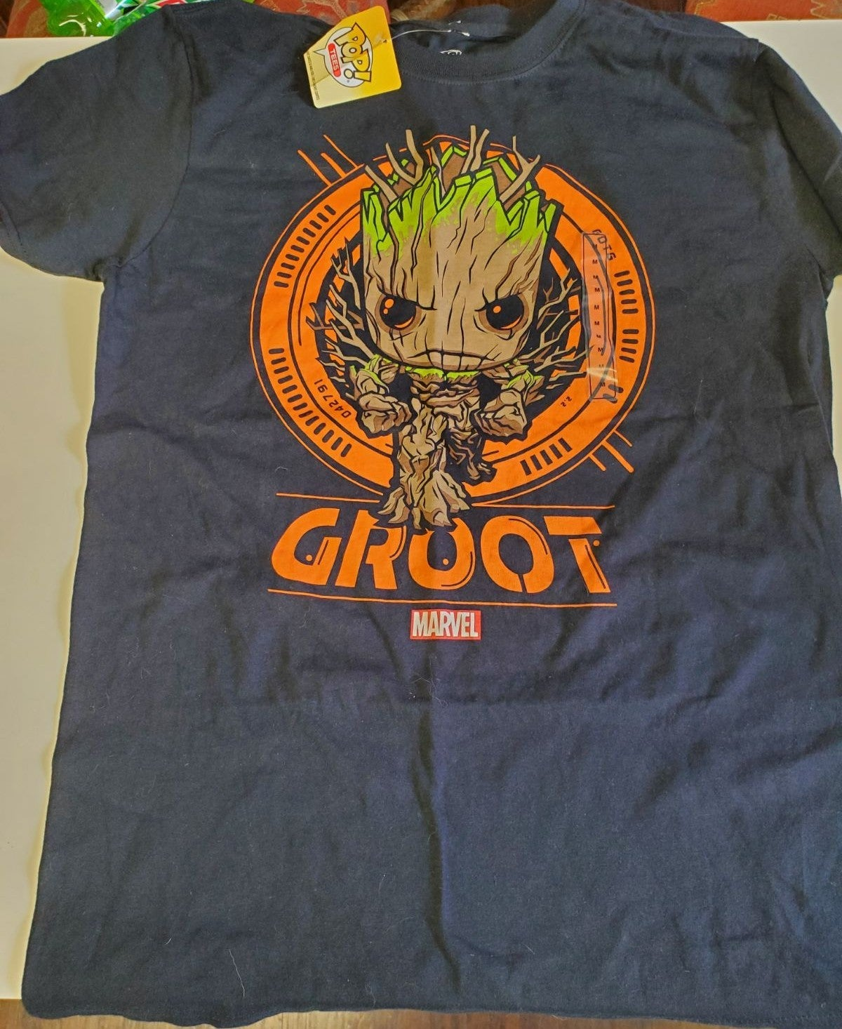 Marvel Groot Adult size medium shirt