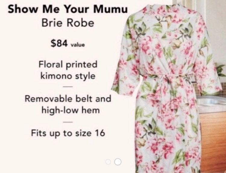 Show Me Your Mumu Floral Kimono