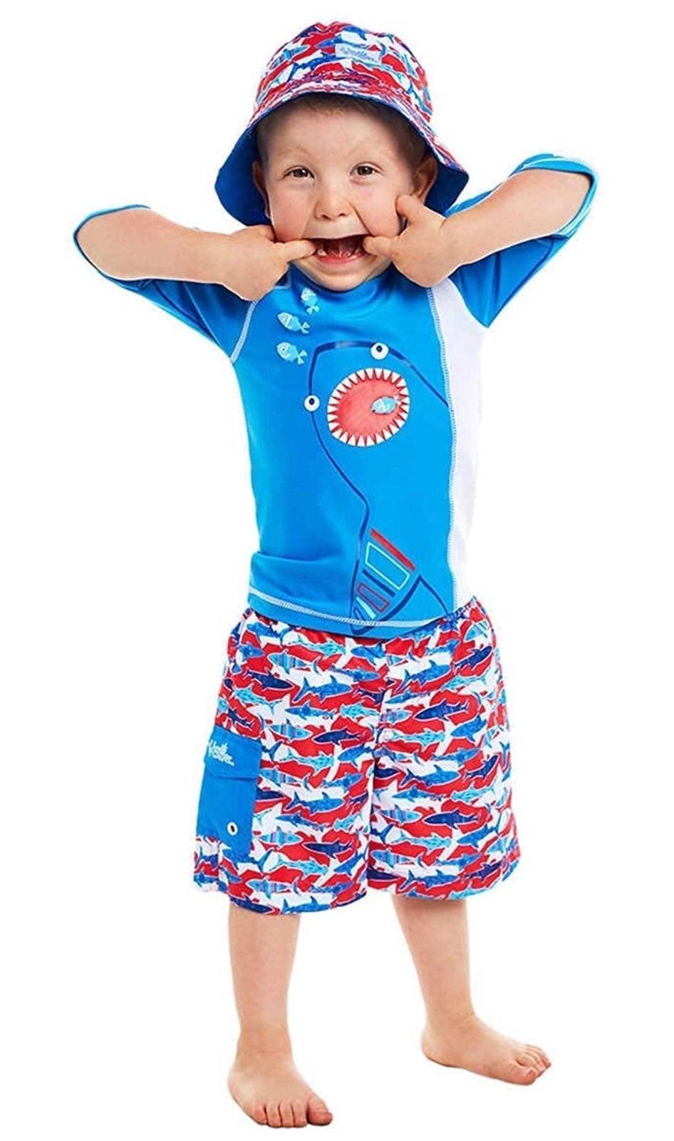 UV Skinz 3pc Boys Swim Set Size 5