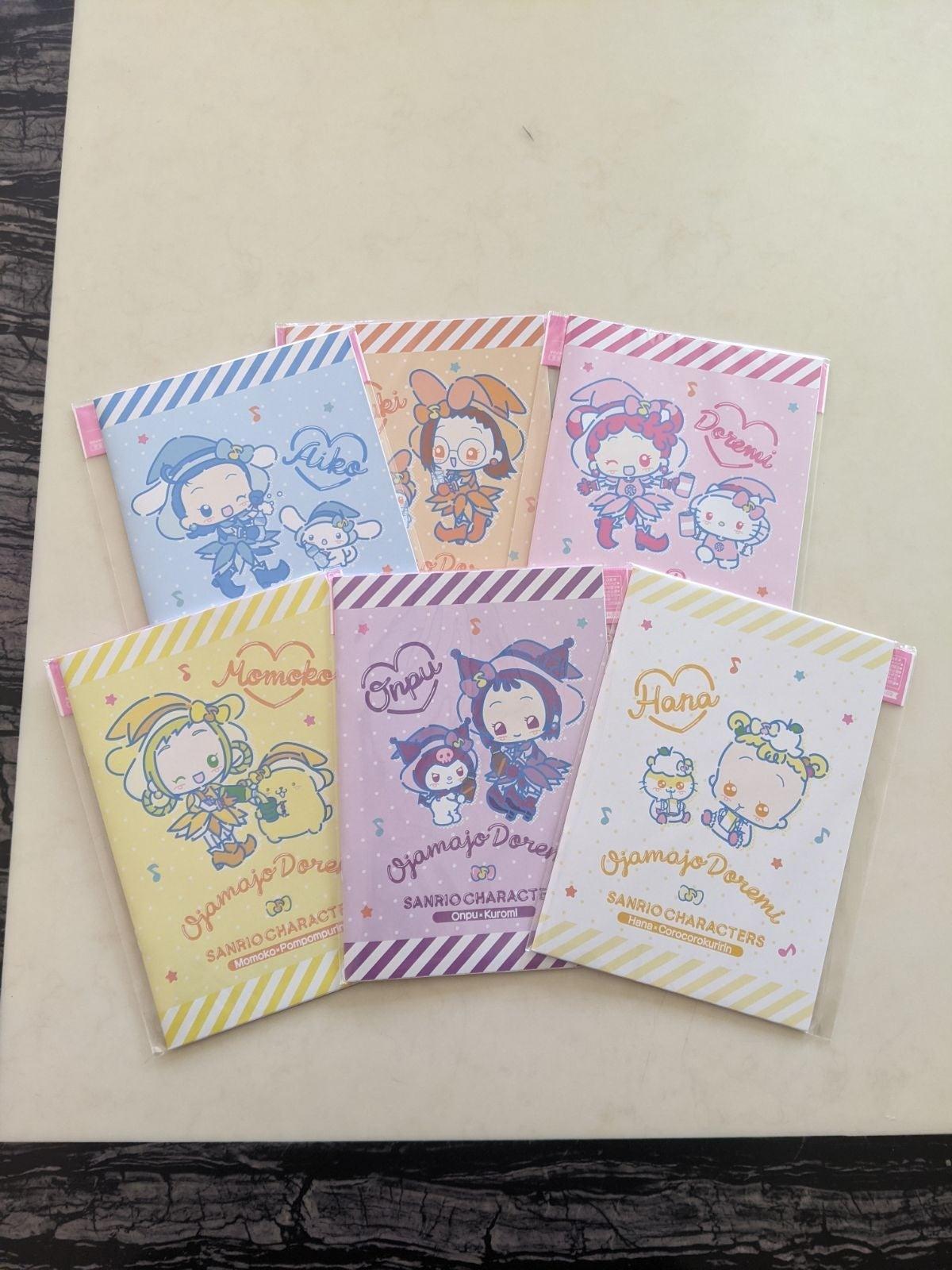 Ojamajo Doremi Notebook Set
