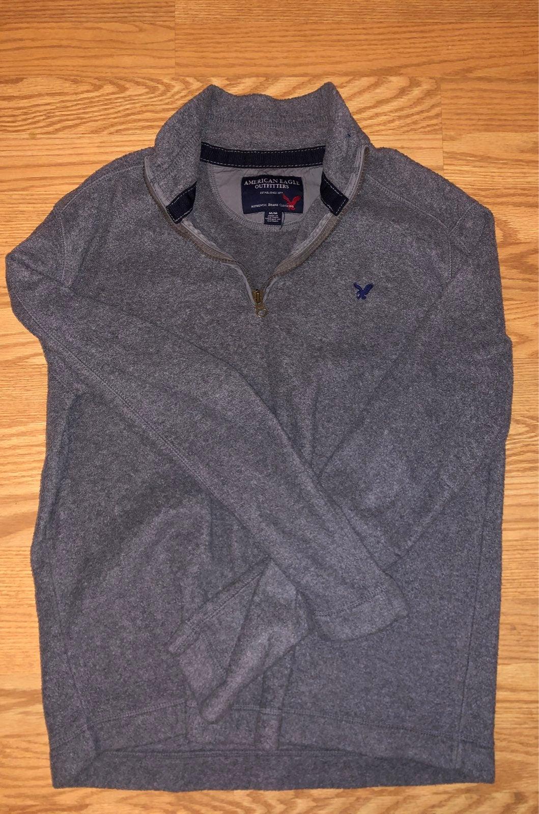 Men's American Eagle fleece zip