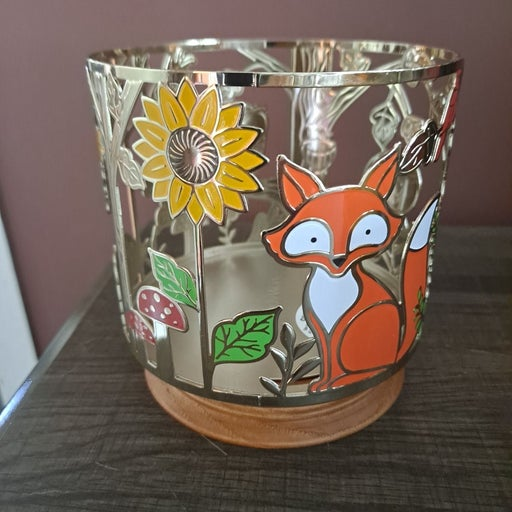 BBW FALL CRITTERS 3-WICK CANDLE HOLDER