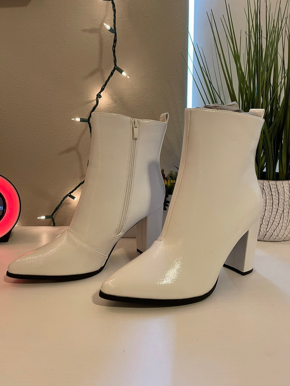 NEW White Boots