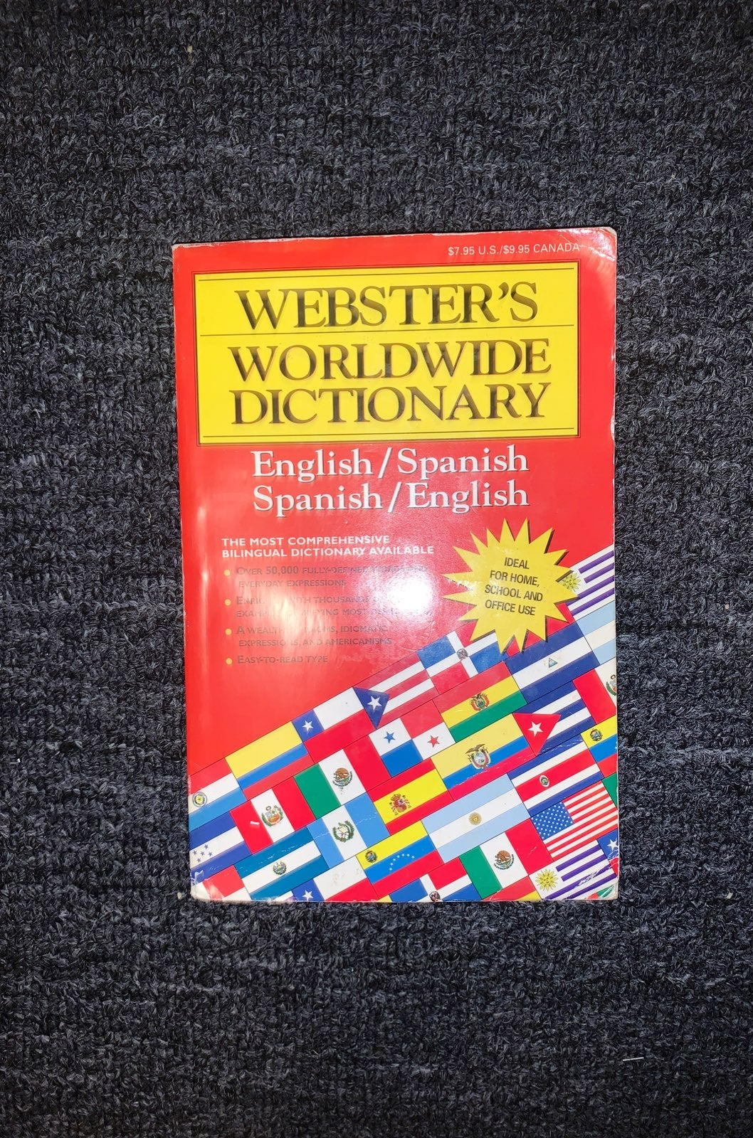 Websters world wide dictionary